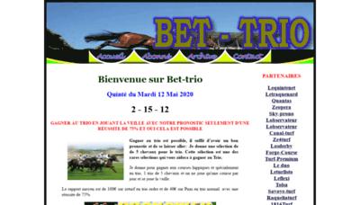 What Bet-trio.siteturf.net website looked like in 2020 (1 year ago)