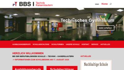 What Bbs1-kl.de website looked like in 2020 (This year)
