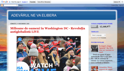 What Burebista2012.blogspot.ro website looked like in 2020 (This year)