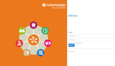 What Babylonhealthroster.rotamasterweb.co.uk website looked like in 2020 (This year)