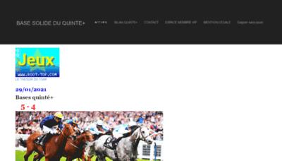 What Basesolide1.onlc.fr website looks like in 2021