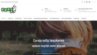 What Bolkshof.be website looks like in 2021