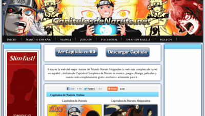 What Capitulosdenaruto.com.ar website looked like in 2013 (8 years ago)