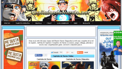 What Capitulosdenaruto.com.ar website looked like in 2014 (7 years ago)