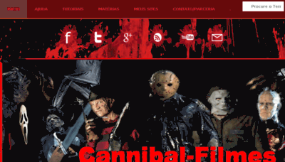 What Cannibal-filmes.net website looked like in 2016 (5 years ago)