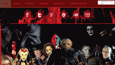 What Cannibal-filmes.net website looked like in 2017 (4 years ago)