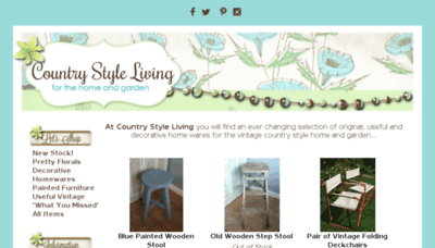 What Countrystyleliving.co.uk website looked like in 2017 (4 years ago)