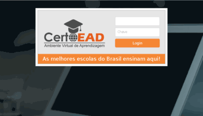 What Certoead.com.br website looked like in 2017 (4 years ago)