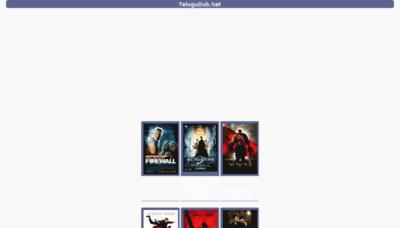 What Cinewap.net website looked like in 2018 (3 years ago)