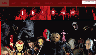 What Cannibal-filmes.net website looked like in 2018 (3 years ago)