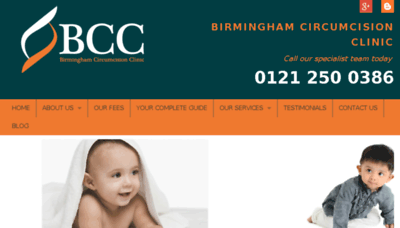 What Circumcisionbham.co.uk website looked like in 2018 (2 years ago)