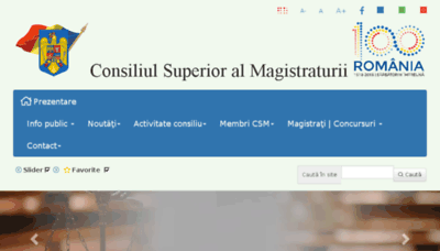 What Csm1909.ro website looked like in 2018 (2 years ago)