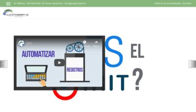 What Capgefi.edu.do website looked like in 2019 (2 years ago)