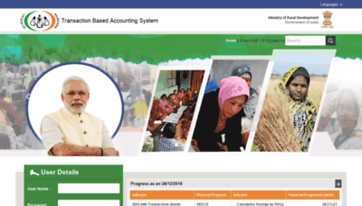 What Cbotrans.nrlm.gov.in website looked like in 2019 (1 year ago)