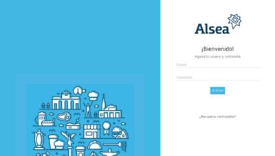What Capacitacion.alsea.net website looked like in 2019 (1 year ago)