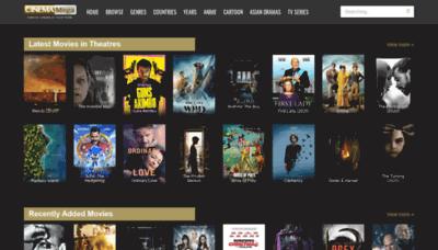 What Cinemamega.net website looked like in 2020 (1 year ago)