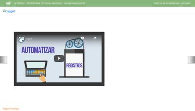 What Capgefi.edu.do website looked like in 2020 (1 year ago)