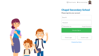 What Chapelsec.edves.net website looked like in 2020 (This year)