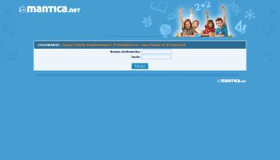 What Czechy.mantica.net website looked like in 2020 (1 year ago)
