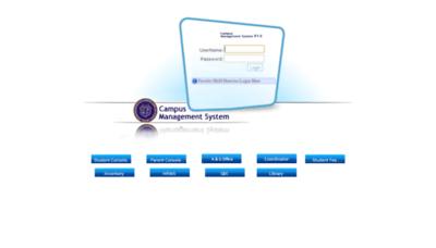 What Cms.giki.edu.pk website looks like in 2021