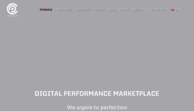What Cpark.pro website looks like in 2021