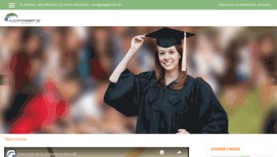 What Capgefi.edu.do website looks like in 2021