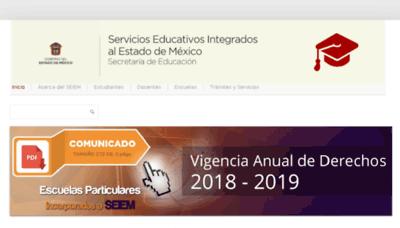 What Dee.edu.mx website looked like in 2018 (3 years ago)