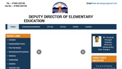What Ddeekangra.in website looked like in 2018 (3 years ago)