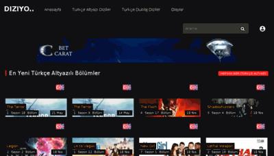 What Diziyo3.net website looked like in 2018 (3 years ago)