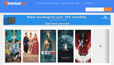 What Downloadhub.ws website looked like in 2018 (3 years ago)