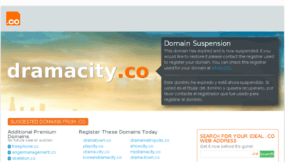 What Dramacity.co website looked like in 2018 (2 years ago)