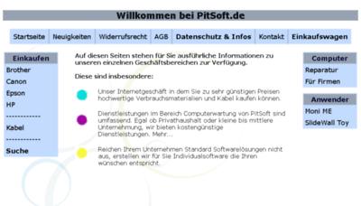 What Druckerpatronen-billiger.de website looked like in 2018 (3 years ago)