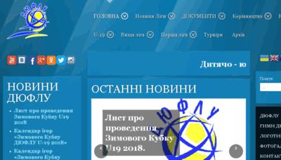What Duflu.org.ua website looked like in 2018 (2 years ago)