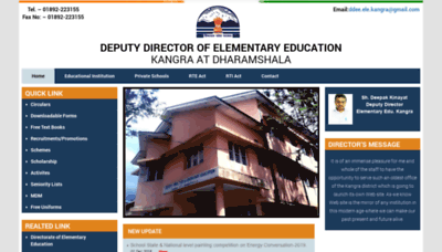What Ddeekangra.in website looked like in 2018 (2 years ago)
