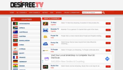 What Desifree.tv website looked like in 2019 (2 years ago)