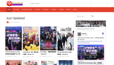 What Dramacity.co website looked like in 2019 (1 year ago)