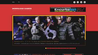 What Downloadgames.com.br website looked like in 2020 (1 year ago)