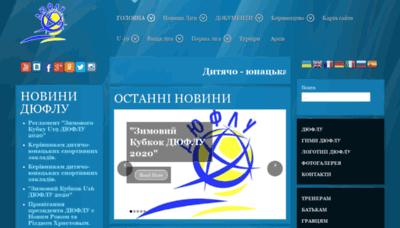 What Duflu.org.ua website looked like in 2020 (1 year ago)