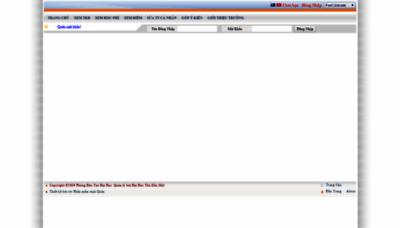What Dkmh.tdmu.edu.vn website looked like in 2020 (1 year ago)
