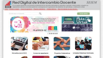 What Dee.edu.mx website looked like in 2020 (1 year ago)