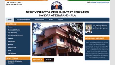 What Ddeekangra.in website looked like in 2020 (1 year ago)