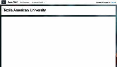 What Dblplms.tauedu.org website looked like in 2020 (1 year ago)