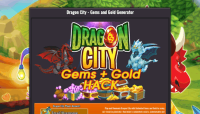 What Dragongems.xcoders.pw website looked like in 2020 (1 year ago)
