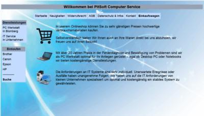What Druckerpatronen-billiger.de website looked like in 2020 (This year)