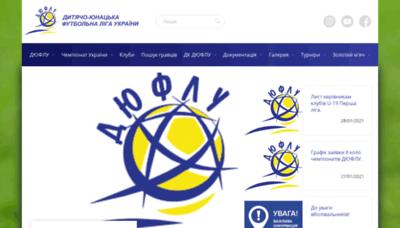What Duflu.org.ua website looks like in 2021