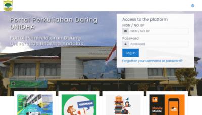 What Daringunidha.net website looks like in 2021