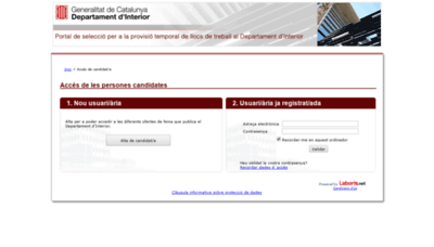 What Dirip.laboris.net website looks like in 2021