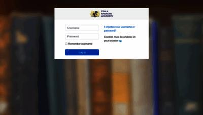 What Dblplms.tauedu.org website looks like in 2021