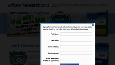What Eflowrewards.ie website looked like in 2013 (8 years ago)