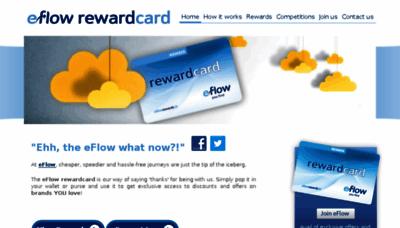 What Eflowrewards.ie website looked like in 2014 (7 years ago)